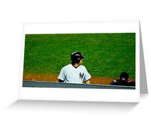 Yankee MVP Greeting Card