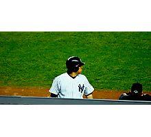 Yankee MVP Photographic Print