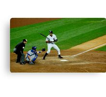 Yankee Strike Canvas Print