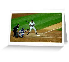Yankee Strike Greeting Card