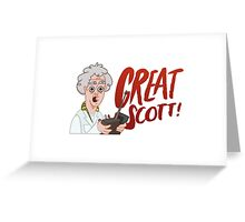 GREAT SCOTT! Greeting Card