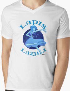 Lapis Lazuli Mens V-Neck T-Shirt