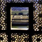 Amber Fort window by pahit