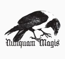 Raven Nunquam Magis by Zehda