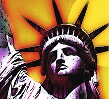 STATUE OF LIBERTY-4 by IMPACTEES