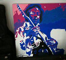Jimmy Hendrix by shinboner