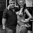 Peter and Samba Dancer by Andrew  Makowiecki