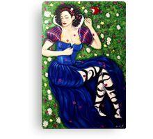 Snow White's Secret Canvas Print