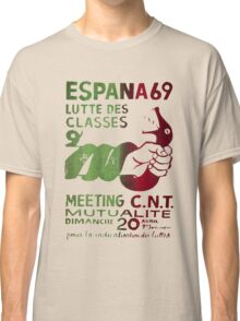 Class Struggle French Protest Poster Classic T-Shirt