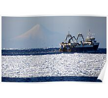 Commercial Fishing ~ Alaska Poster