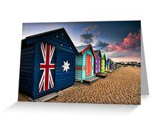 Brighton Beach Box Greeting Card