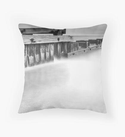 Dusk at Mentone Pier #2 Throw Pillow