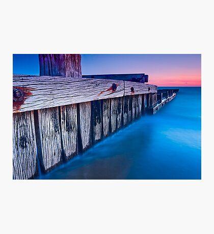 Dusk at Mentone Pier #3 Photographic Print
