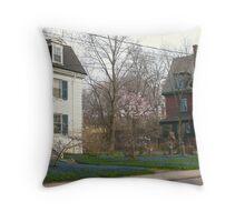 Spring in Toronto Throw Pillow