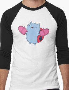 Catbug! Men's Baseball ¾ T-Shirt