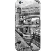 Two Bob Huddlesford moored on at Castlefield iPhone Case/Skin