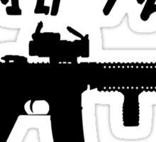 Molon labe ar15 geek funny nerd Sticker