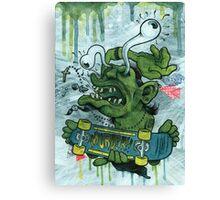 Der Shredder Canvas Print