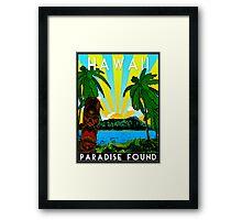 HAWAII - PARADISE FOUND Framed Print