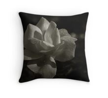 Dew of the Rose Throw Pillow