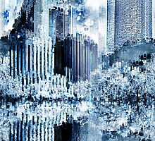 Abstraction city 10 by Jean-François Dupuis