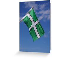Devon Flag Greeting Card