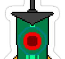 Pixel Transistor Sticker
