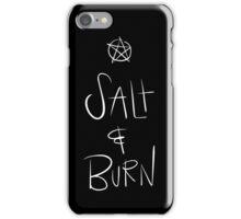 Supernatural - Salt and Burn iPhone Case/Skin