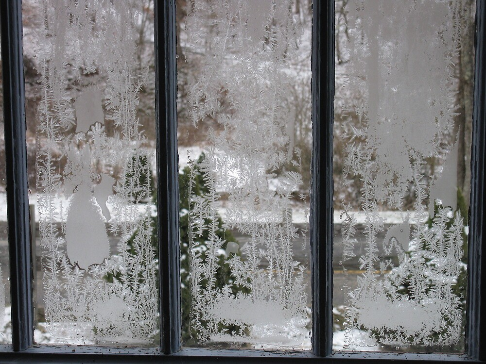 Ice Window by Hank Eder