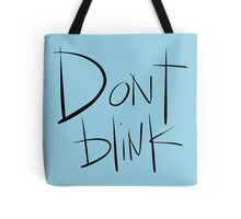 Doctor Who - Don't Blink Tote Bag
