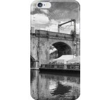 Castlefield Waterways & Beetham Tower, Manchester iPhone Case/Skin