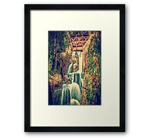 Don't Go Painting Waterfalls Framed Print