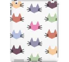 Colored Cats iPad Case/Skin