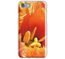 Tulip With A Fringe On Top iPhone Case/Skin