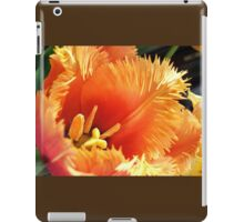 Tulip With A Fringe On Top iPad Case/Skin
