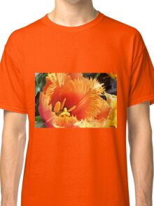 Tulip With A Fringe On Top Classic T-Shirt