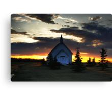 Bold Prairie Sky Canvas Print