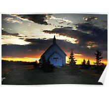 Bold Prairie Sky Poster