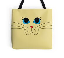 Putty-cat Face #2 Tote Bag