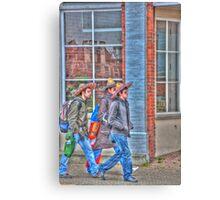 Three Amigos Canvas Print