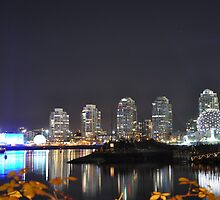 Science World at Night by jackdouglas