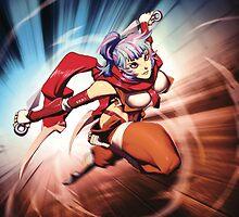 Setsuki - Esper Dash - Fantasy Strike by Sirlin
