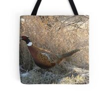 Ring-necked Pheasant on a Mission Tote Bag