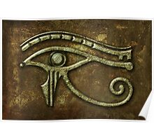 Eye of Horus Rust Poster
