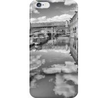 Castlefield Waterways of Manchester, Narrowboat & Bridges iPhone Case/Skin