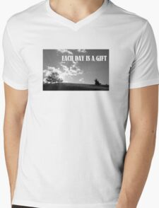 Each Day Is A Gift Mens V-Neck T-Shirt