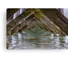Fort Foster Pier - Kittery - Maine Canvas Print