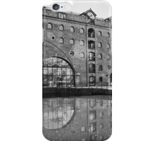 Castlefield Waterways of Manchester, Building & Reflection iPhone Case/Skin