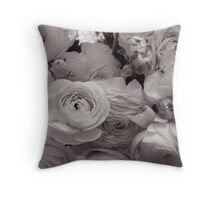 In the flower shop window Throw Pillow