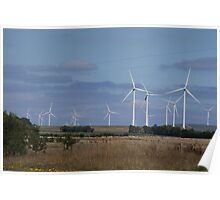 WIND POWER OF THE FUTURE Poster